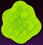 Small image for Marvelous Molds Hibiscus Medallion