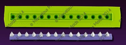 Small image for Marvelous Molds Spike Strap
