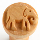 MKM Elephant 2.5cm wood stamp