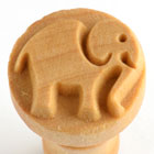 MKM Elephant 2 (2.5cm) wood stamp