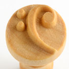MKM Bass Clef 2.5cm wood stamp