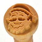 MKM Santa Claus 2.5cm wood stamp