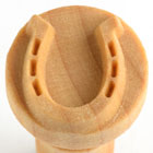 MKM Horse Shoe 2.5cm wood stamp