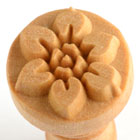 MKM Flower 2.5cm wood stamp