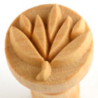 MKM Flower 2 (2.5cm) wood stamp