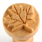 MKM Maple Leaf 2.5cm wood stamp