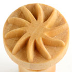 MKM Star Twist 2.5cm wood stamp