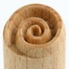 Small image for MKM Swirl 1.5cm wood stamp