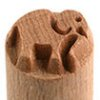 Small image for MKM Elephant 1.5cm wood stamp