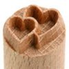 Small image for MKM Double Heart 1.5cm wood stamp