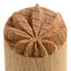 Small image for MKM Hemp Leaf 1.5cm wood stamp